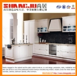 European style PVC kitchen cabinet design with high quality and competitive price