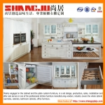 Wholesale and customed pvc kitchen cabinet (high gloss, mat, mdf)