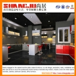 Guangzhou high quality acrylic kitchen cabinets