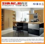 Modern white high gloss acrylic kitchen cabinet