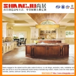 Modern Solid Wood Kitchen Cabinet