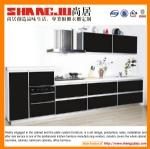 White black kitchen cabinet