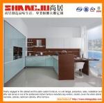 l-shaped kitchen cabinet