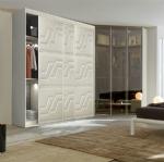 elegant wooden sliding door