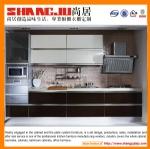 modern high gloss UV kitchen cabinet